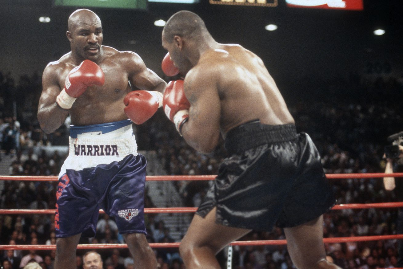 WBA Heavyweight Title Fight - Evander Holyfield v Mike Tyson
