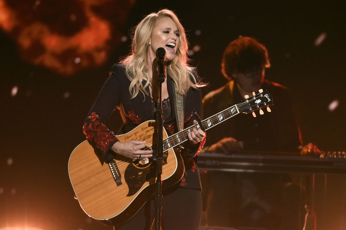 Miranda Lambert performs at the 53rd annual Academy of Country Music Awards in Las Vegas in 2018.