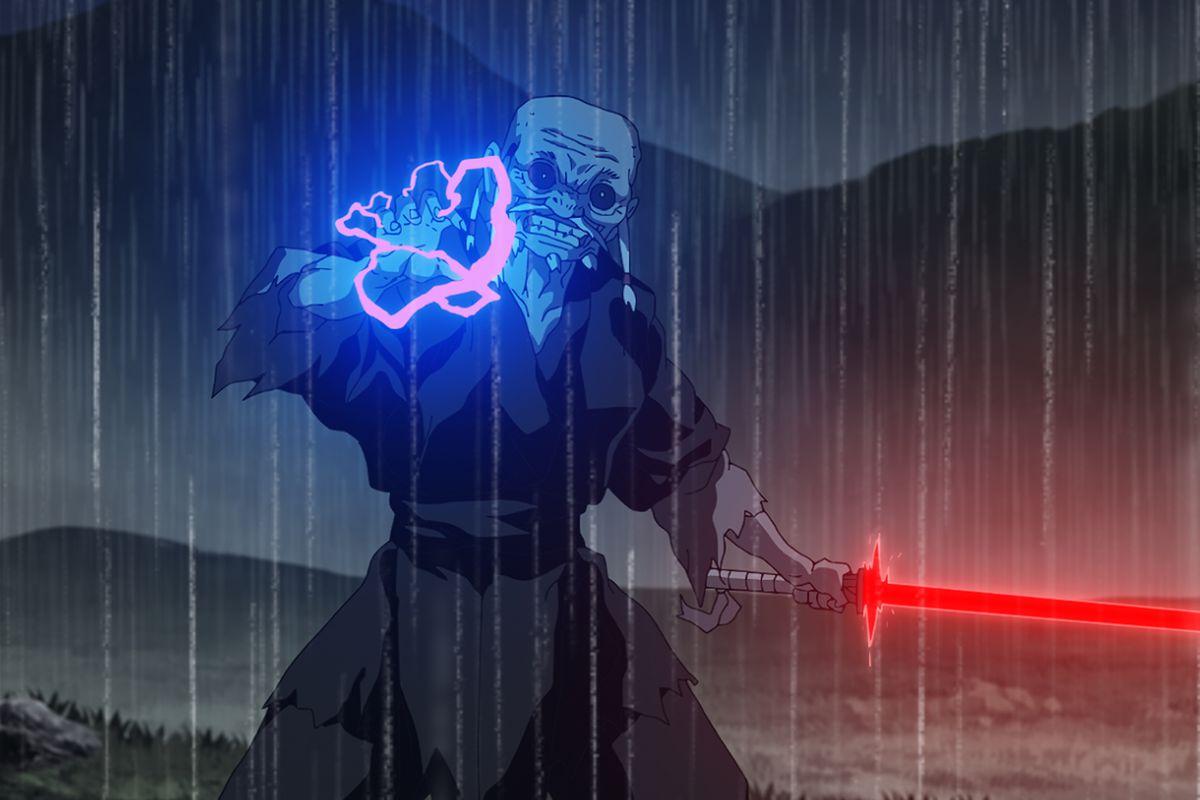 "The Elder from ""Star Wars: Visions"" short, ""The Elder."""