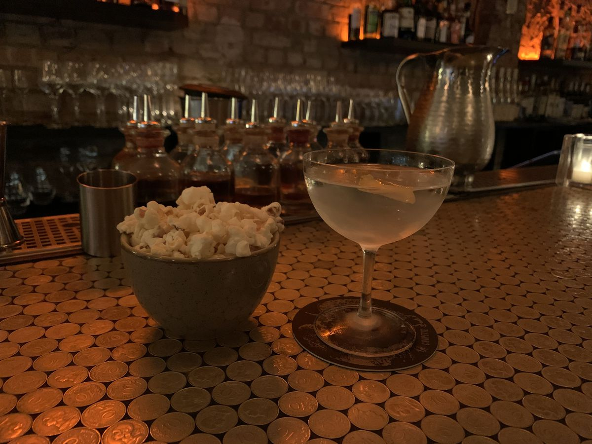 One of London's best martinis at coupette