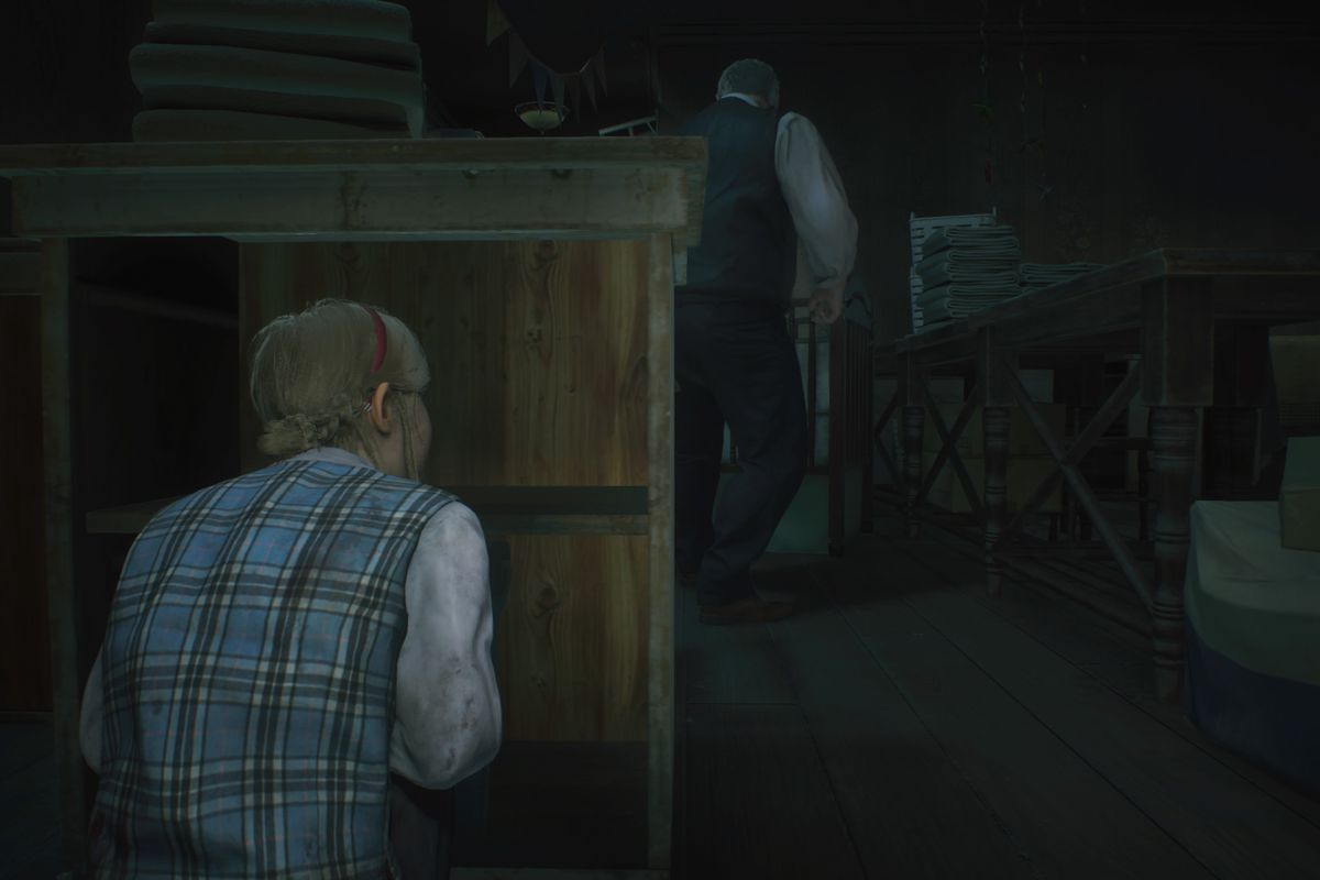 RE2 remake Claire [2nd] walkthrough: Sherry in the Orphanage - Polygon