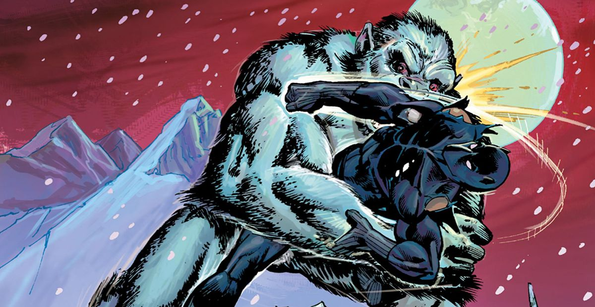 From the cover of Black Panther Epic Collection: Panther's Rage, Marvel Comics (reprinted in 2016).