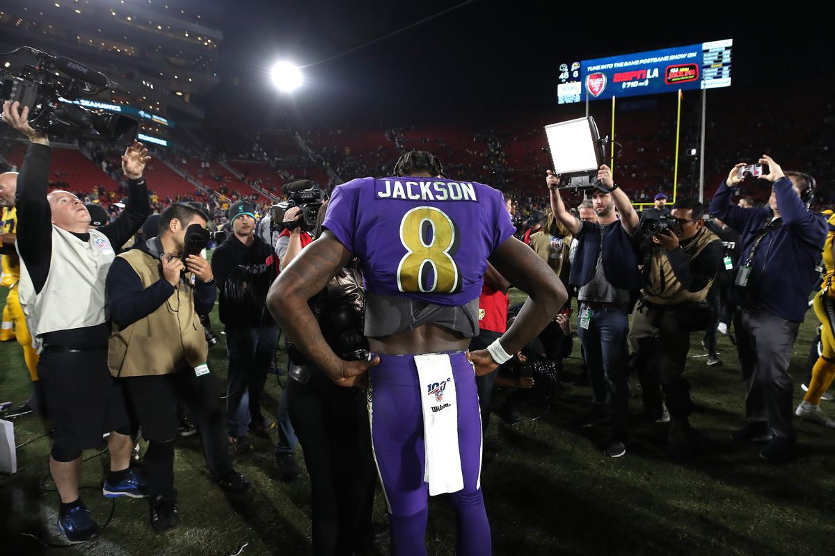 The Best Of Lamar Jackson From Monday Night Football Card Chronicle