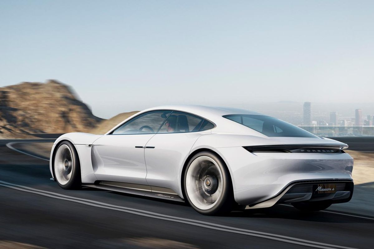 Porsche S Tesla Rival Spotted In The Wild For First Time