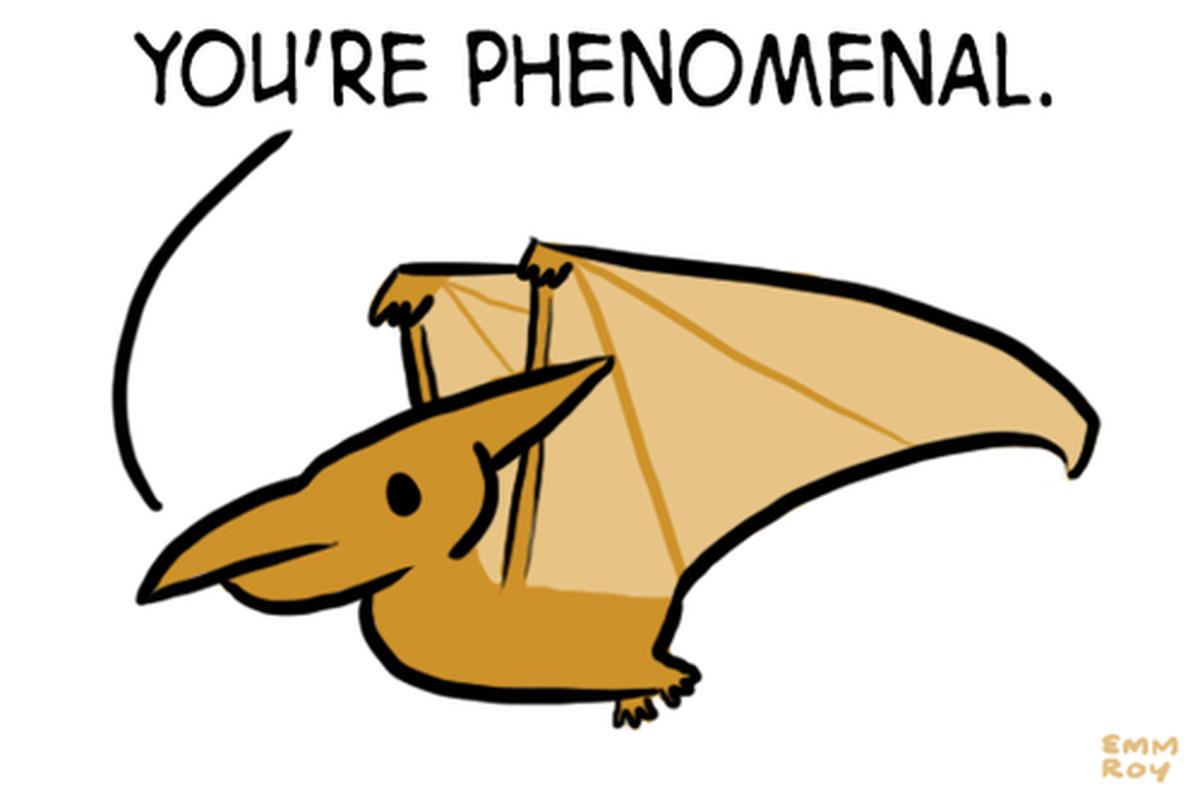 Emm Roy's pteranodon