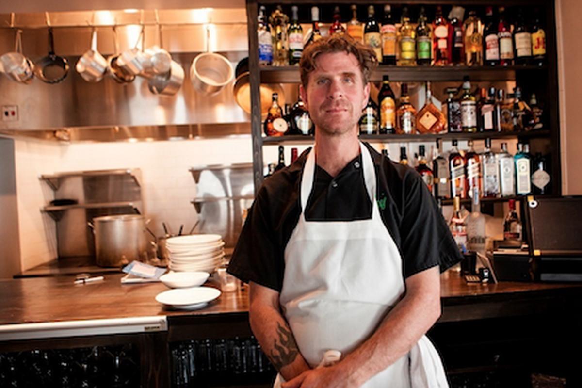 Chef Ian Schnoebelen of Mariza