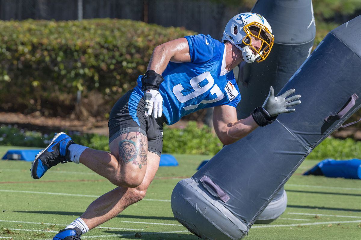 Los Angeles Chargers: day two of training camp for the 2021 season