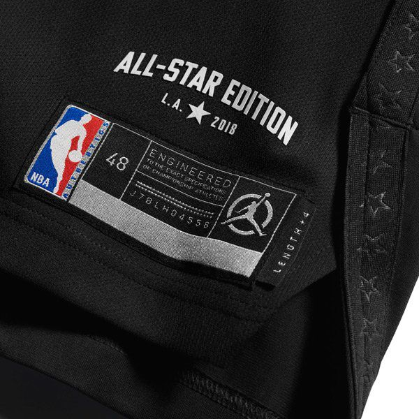sale retailer c8fd3 0bec4 Jordan Brand released the 2018 NBA All-Star jerseys ...