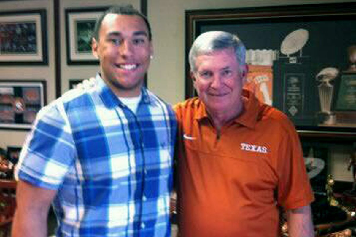 James Lockhart's met with Mack Brown. Would love to do the same with Urban.