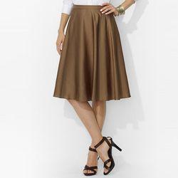 """Lauren Ralph Lauren Full Ruffled Skirt in Dark Sand, <a href=""""http://www1.bloomingdales.com/shop/product/lauren-ralph-lauren-full-ruffled-skirt?ID=767220&CategoryID=1000662&LinkType=#fn=LENGTH_M%3DMid%26WOMENS_SKIRTS_AND_SHORTS%3DSkirts%26spp%3D24%26ppp%3"""