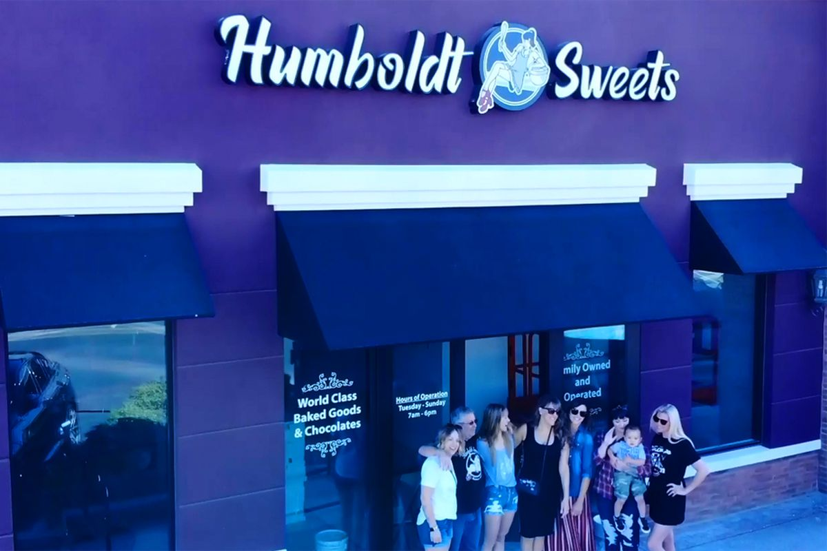Exterior of Humboldt Sweets, a California-born bakery opening in Henderson this month.