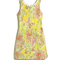 'Happy Place' shift dress, $38, 2-18, 14W-26W (online only)