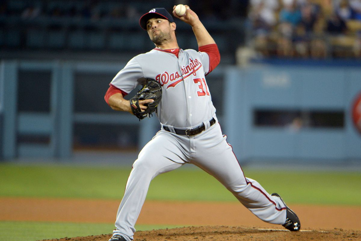 Xavier Cedeno has pitched in three career games at Dodger Stadium.
