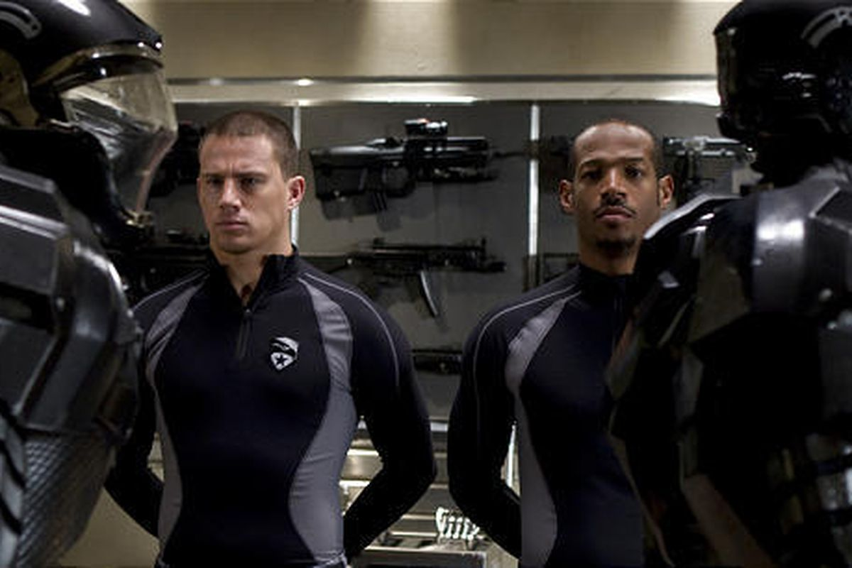 """Channing Tatum, left, and Marlon Wayans star in the movie """"G.I. Joe: The Rise of Cobra."""""""