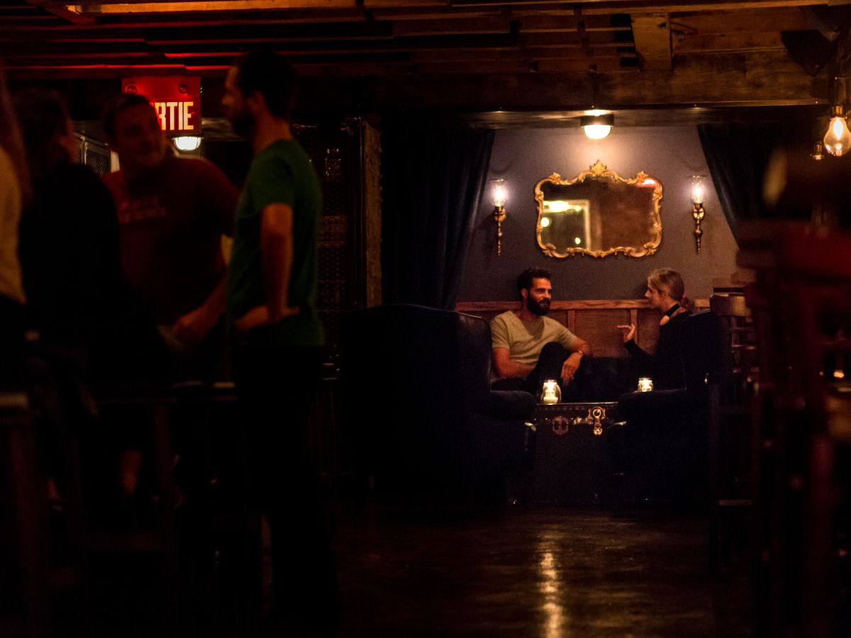 Look Inside Cold Room, the Basement Cocktail Bar Under Jacques-Cartier Place