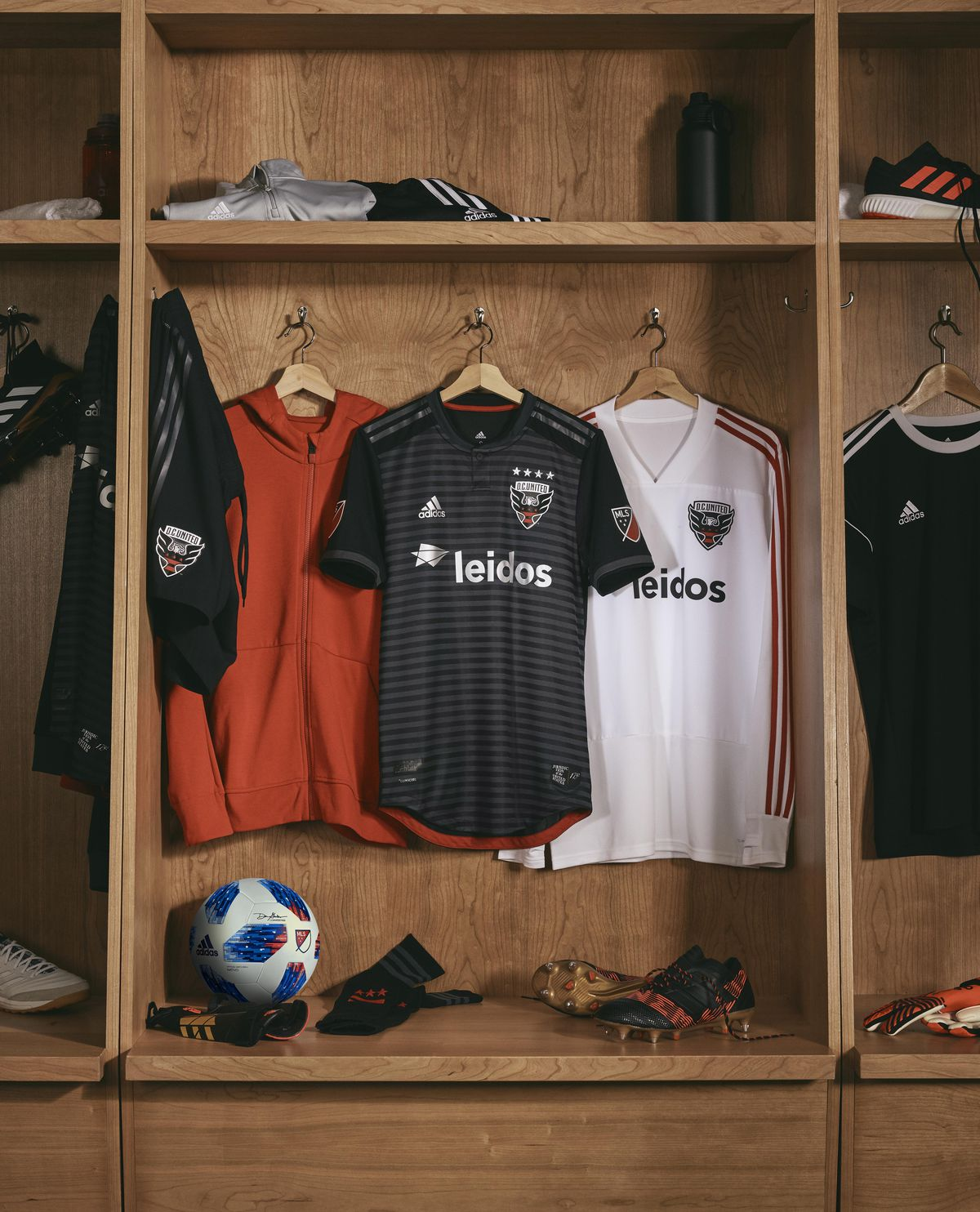 D.C. United jersey hanging