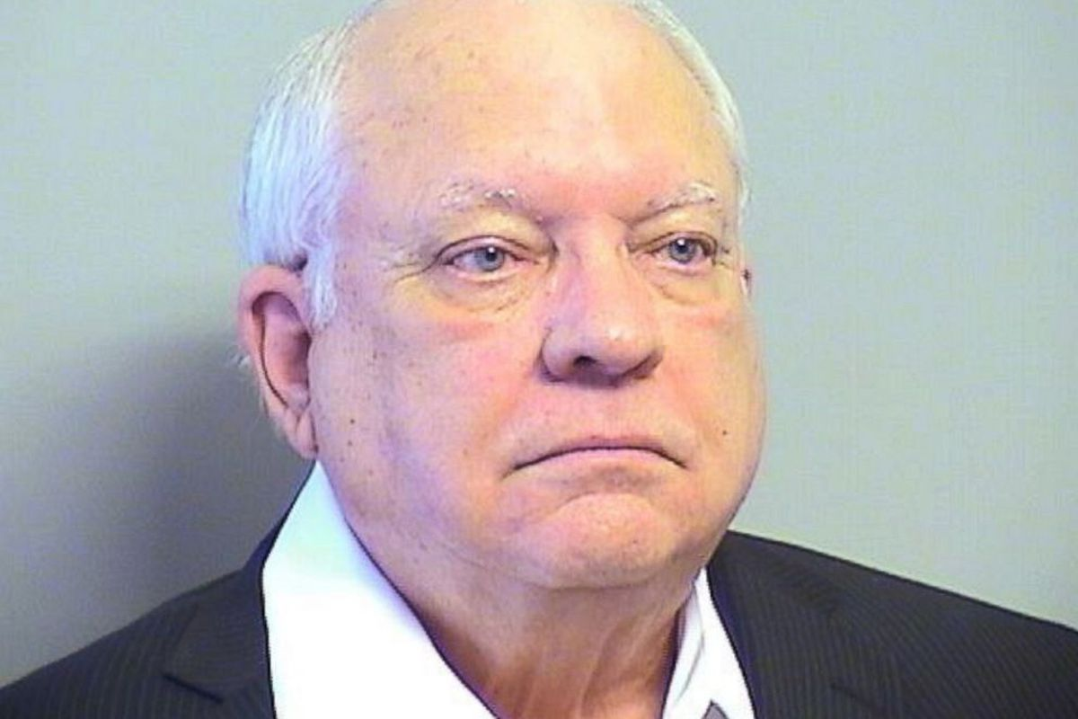 Reserve sheriff's deputy Robert Bates appears in a booking photo at the Tulsa County Jail in Tulsa, Oklahoma, on April 14, 2015.