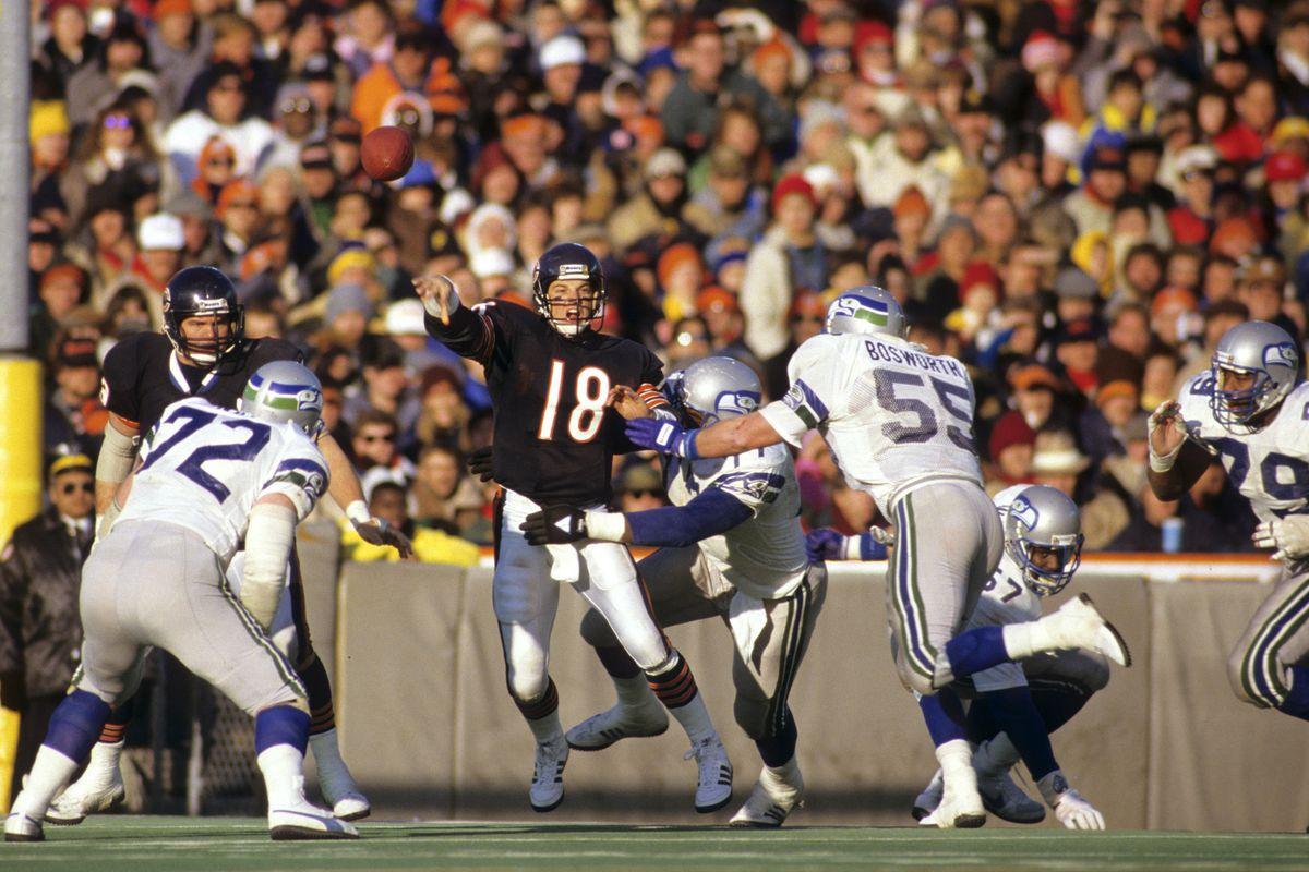 Seattle Seahawks vs Chicago Bears - December 20, 1987