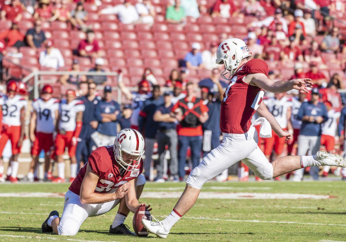 COLLEGE FOOTBALL: OCT 26 Arizona at Stanford