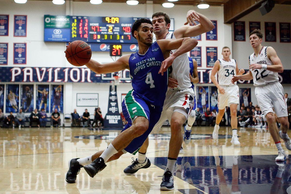 NCAA Basketball: Texas A&M CC at St. Mary's