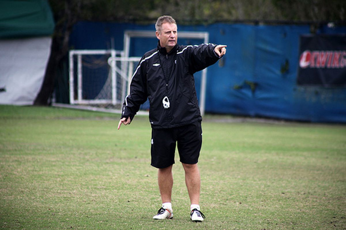 Sean Fleming shouldn't have much coaching to do Saturday night having worked to get his players ready for this big game.