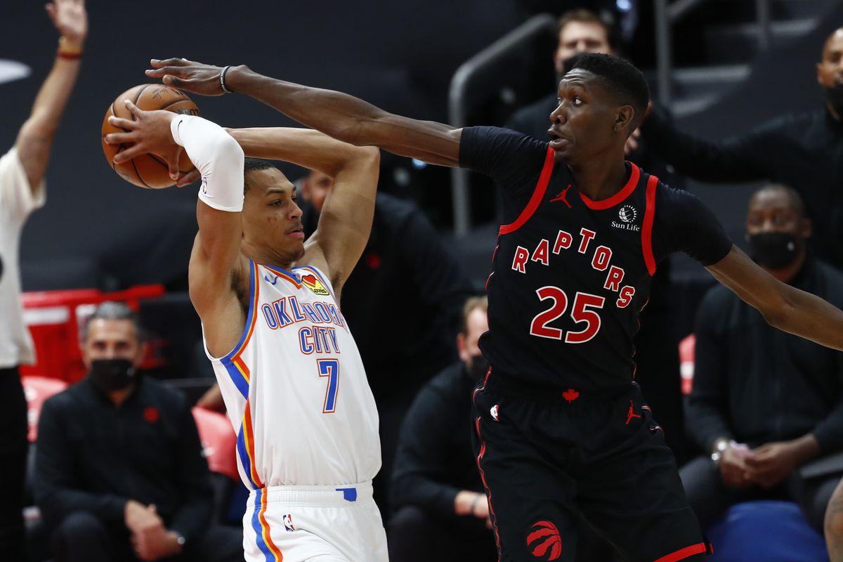 NBA: Oklahoma City Thunder at Toronto Raptors