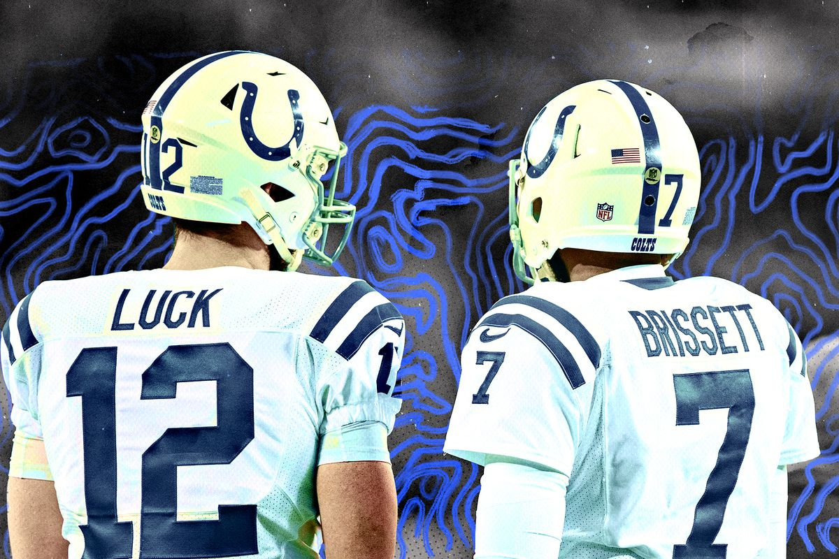 the latest 29c69 82212 The Colts now face quarterback purgatory for the first time ...