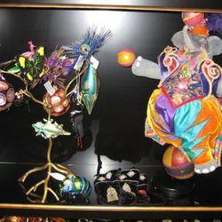 Katherine's Collection vintage elephant doll, $2,500
