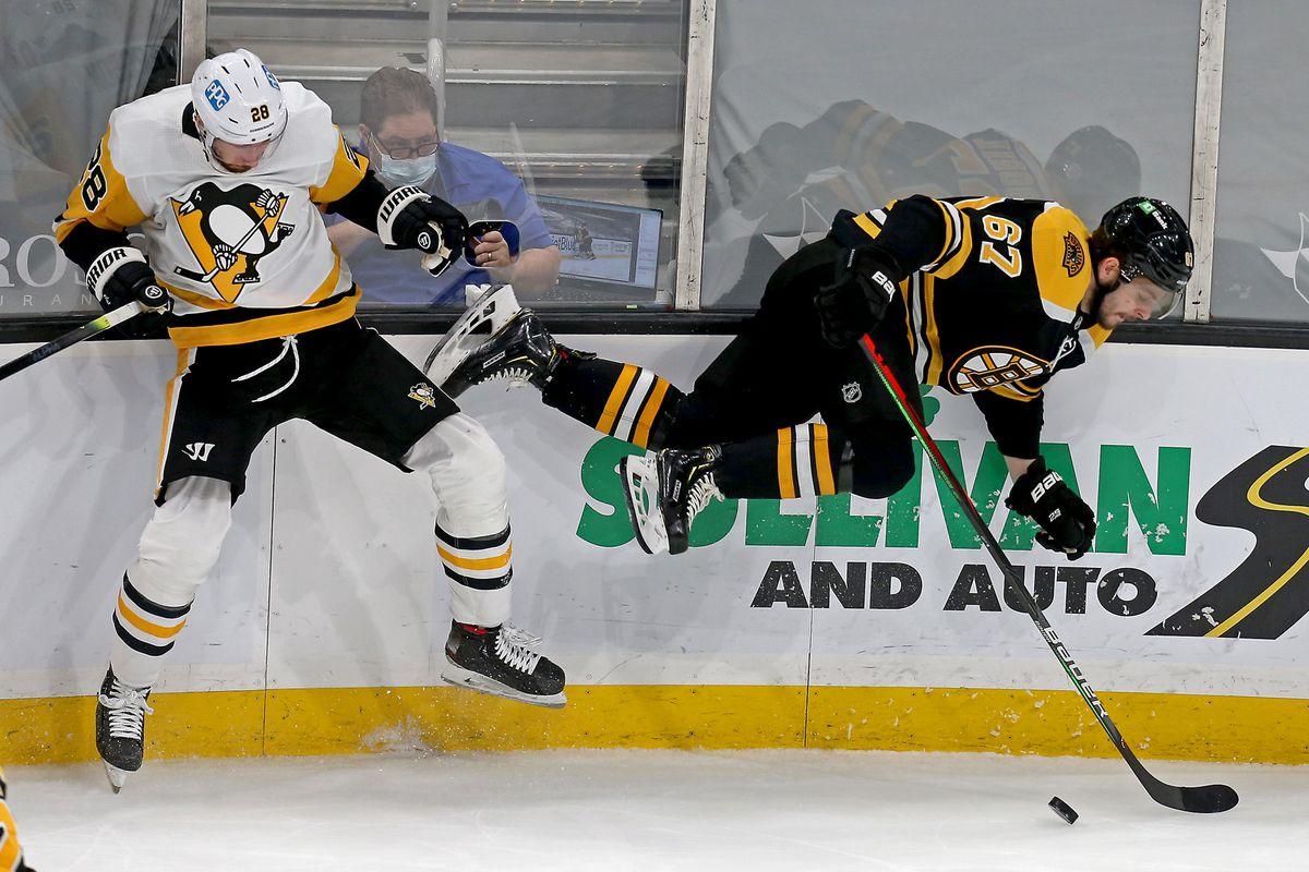 Boston Bruins vs Pittsburgh Penguins