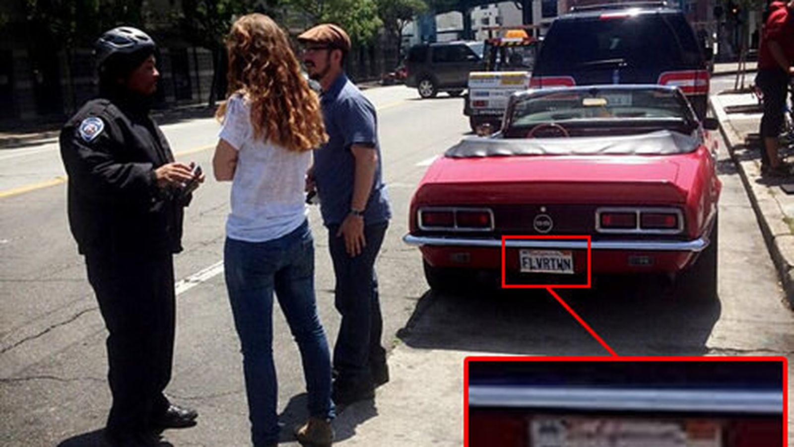 Car Share Denver >> Guy Fieri's Camaro Gets a Parking Ticket Shooting in SF