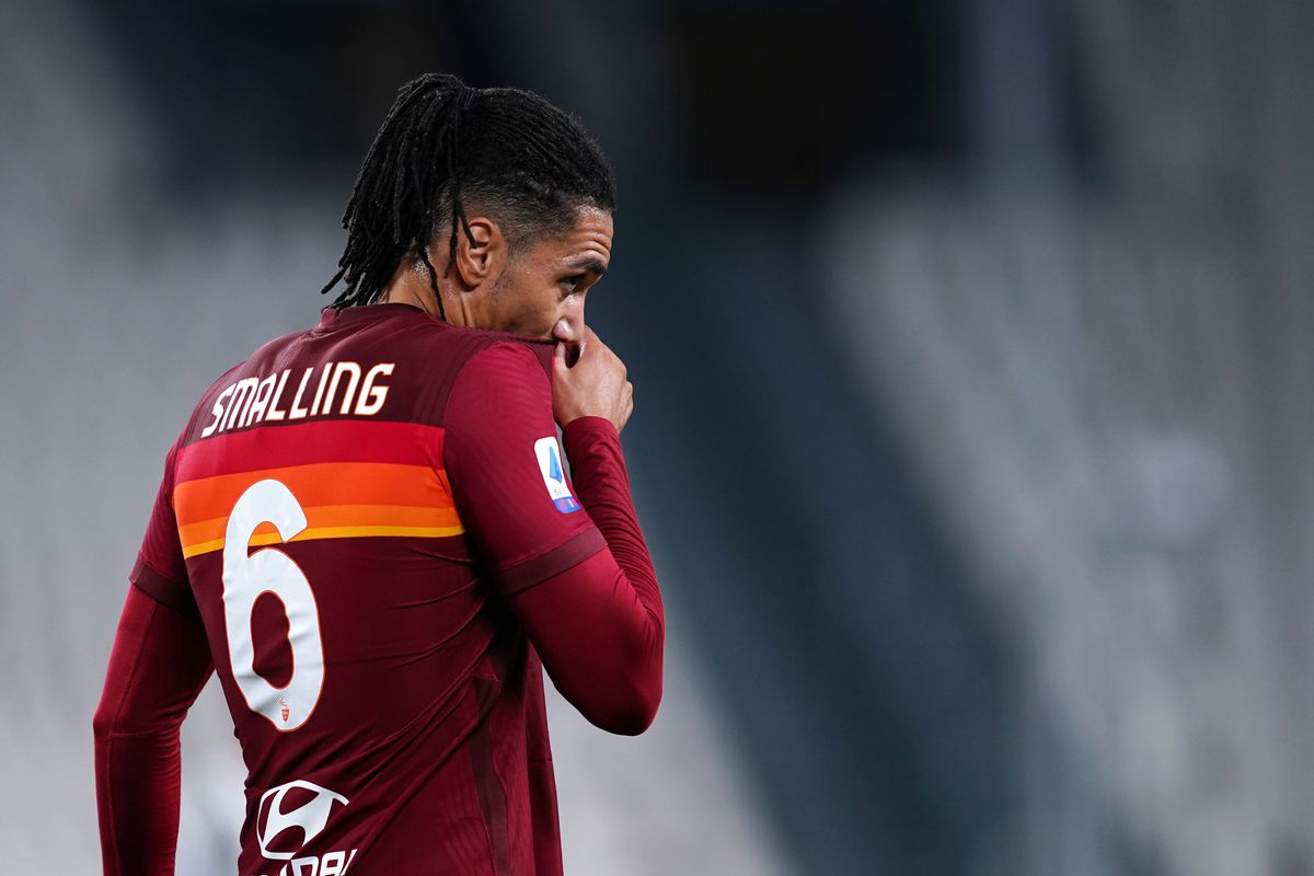 Chris Smalling of As Roma during the Serie A match...