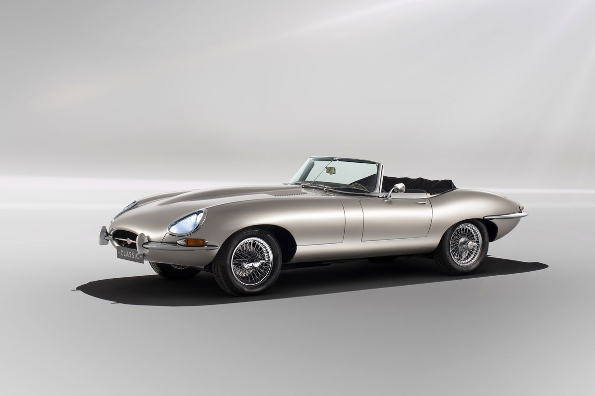 Jaguar Will A Limited Run All Electric Version Of The E Type From 1960s Photo
