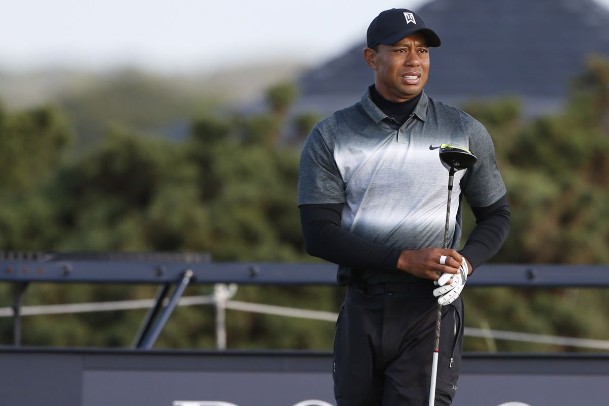 british open 2015 leaderboard  tiger woods misses the cut