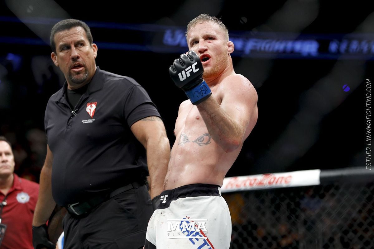 Morning Report: Justin Gaethje wants Conor McGregor next: 'I would definitely love to f*ck him up'
