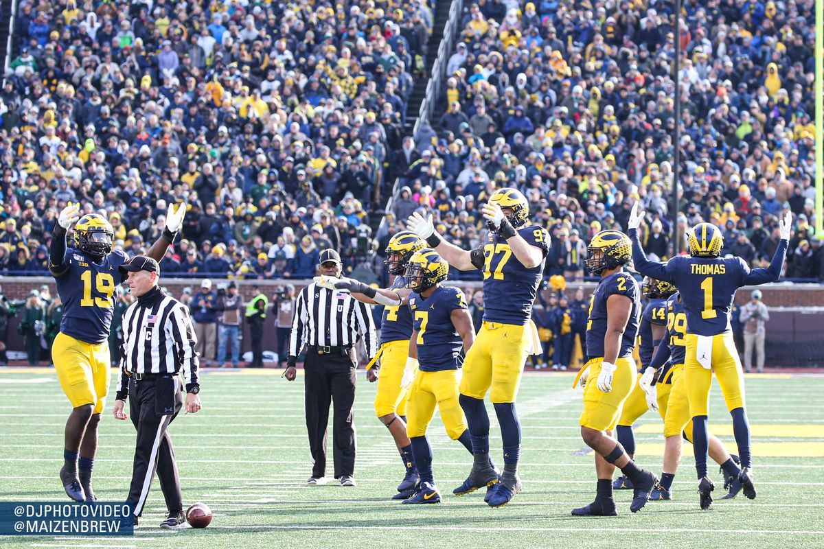 Reactions: Michigan makes easy work of hapless Spartan rivals