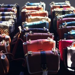 Mini crossbody bags are $75 a pop and come in just about every color of the rainbow.