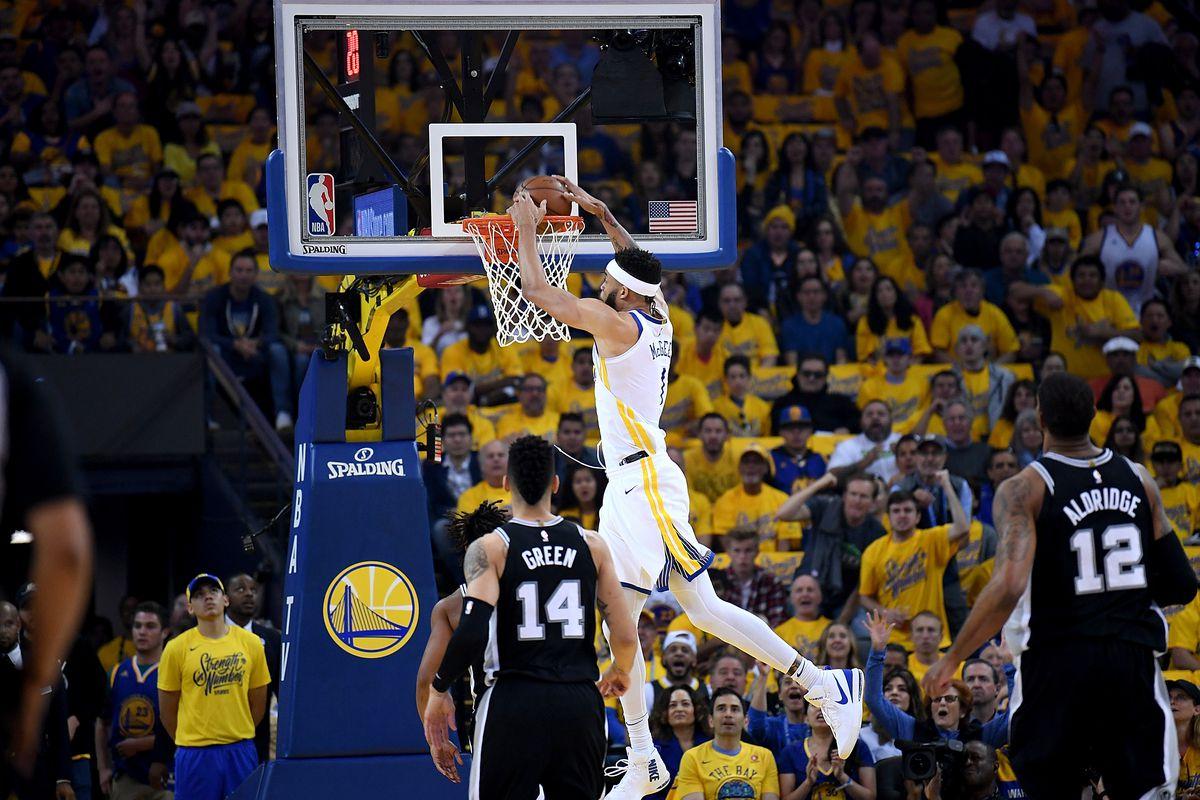 San Antonio Spurs v Golden State Warriors - Game One