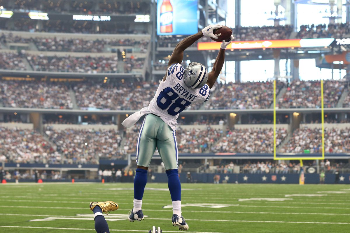 Dez Bryant Has A Quiet Fantasy Outing Despite Touchdown