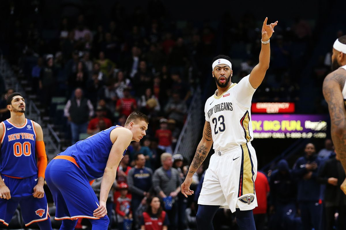 950f8bdb4 Los Angeles Lakers media ignoring fact New York Knicks remain major players  in Anthony Davis sweepstakes