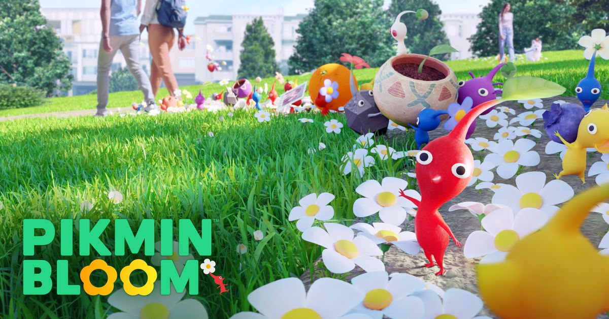 Pikmin Bloom hands-on: a cute app that tries to make walking a little more magical