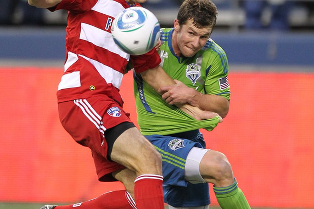 Mike Fucito may not be the biggest player, but he's shown an ability to match physicality with some of the better defenders in MLS.