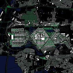 Rick Mather's Heathrow City diagram