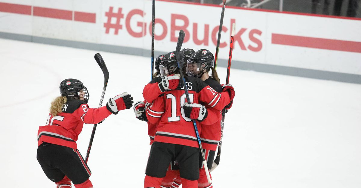 Ohio State women's ice hockey takes conference series - Land-Grant Holy Land