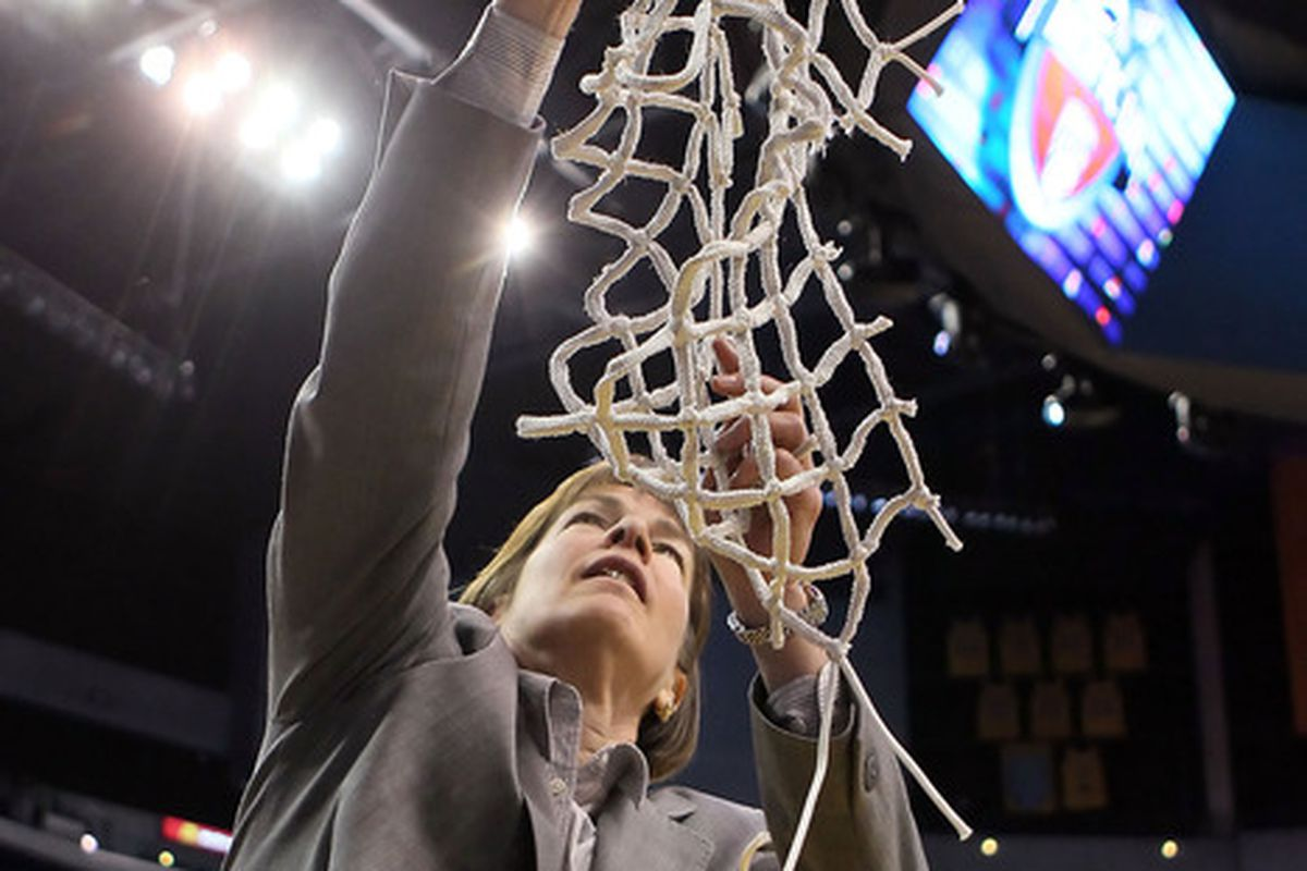 Will the Sun Devils cut down the nets in Indianapolis? (Photo by Jeff Gross/Getty Images)