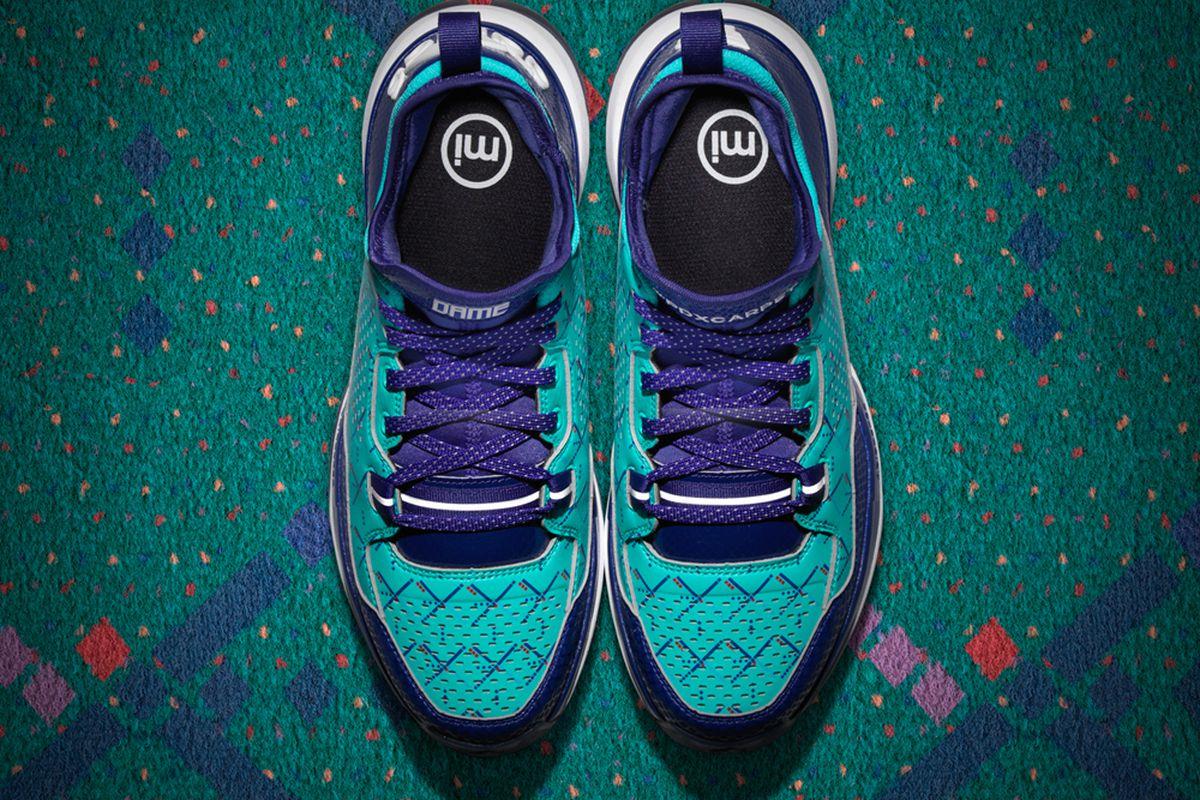 """Photo: <a href=""""http://solecollector.com/news/adidas-d-lillard-1-pdx-carpet/"""">Sole Collector</a>"""