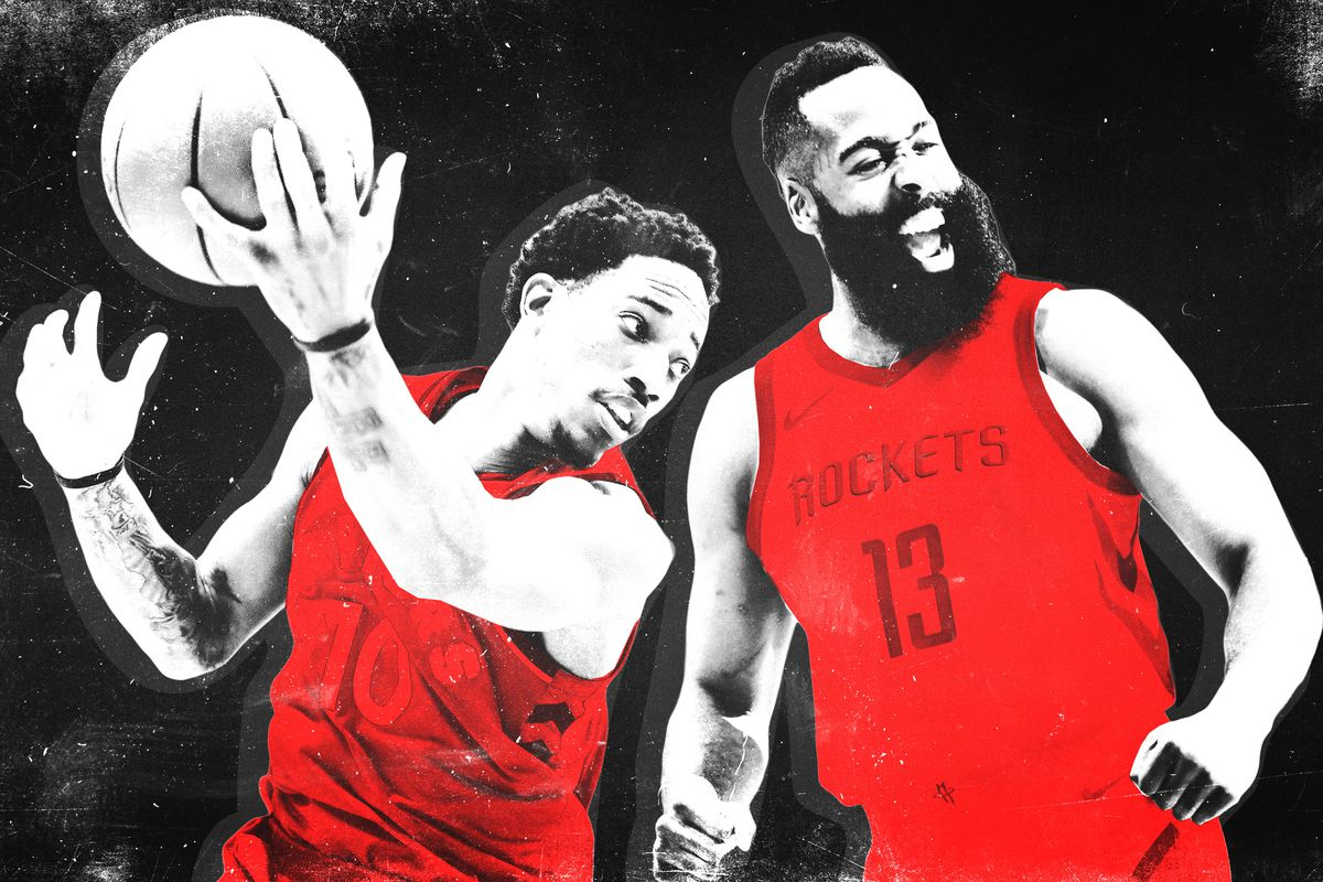 Kyle Lowry and James Harden