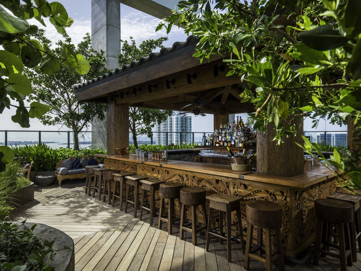 Miami S 10 Best Rooftop Bars Curbed Miami