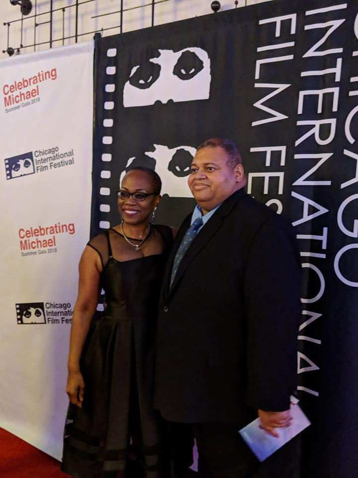 Lawyer Randy Crumpton and actress Regina Taylor. | Facebook photo