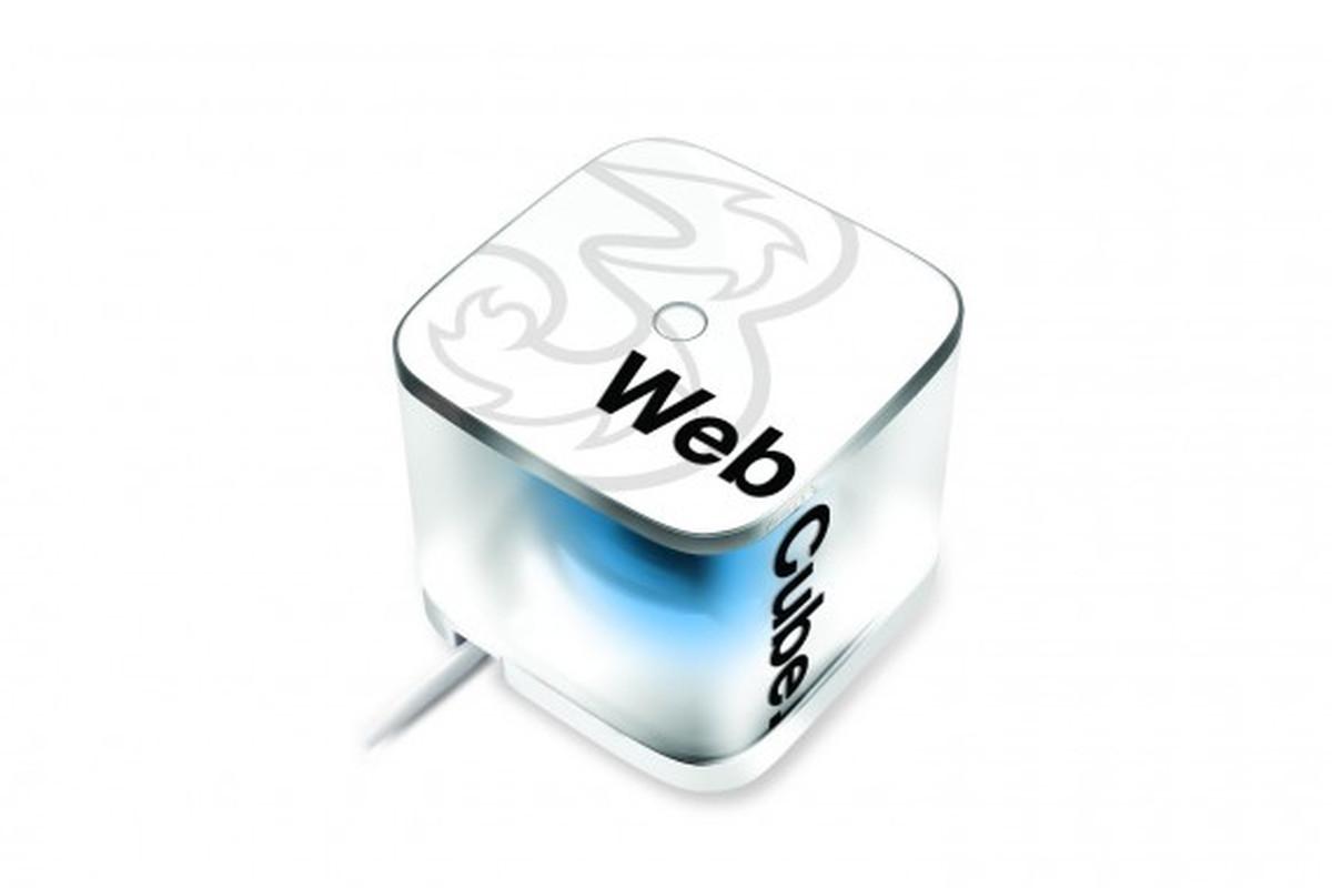 Three Wireless Web Cube