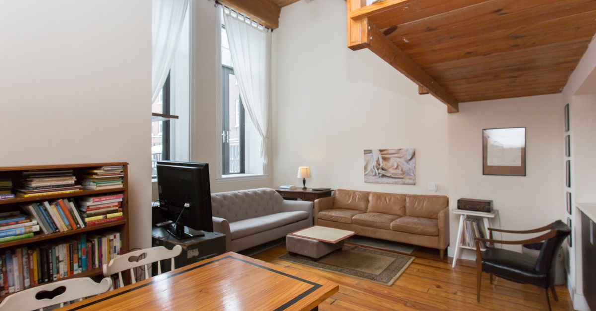 Old City Loft With Wood Ceiling Large Windows Asks 350k